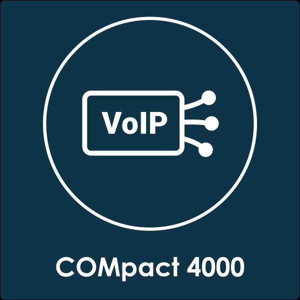 VoIP-Kanäle inkl. VMF COMpact 4000