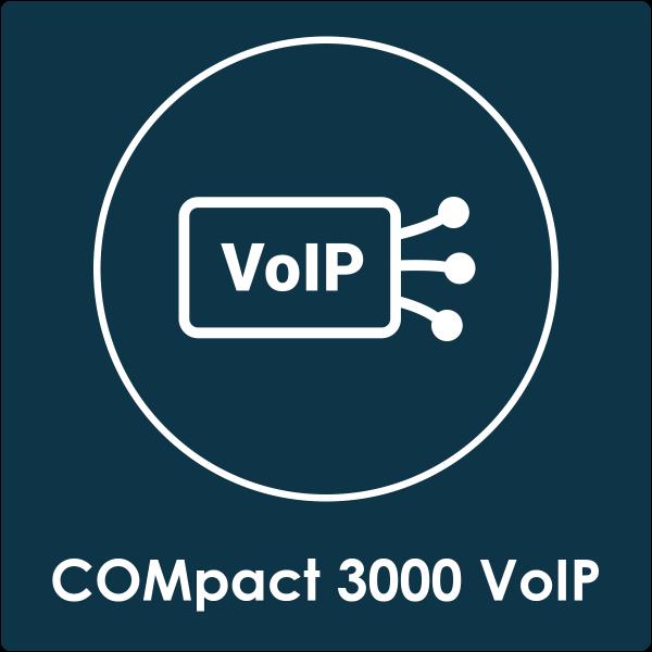 VoIP-Kanäle COMpact 3000 VoIP