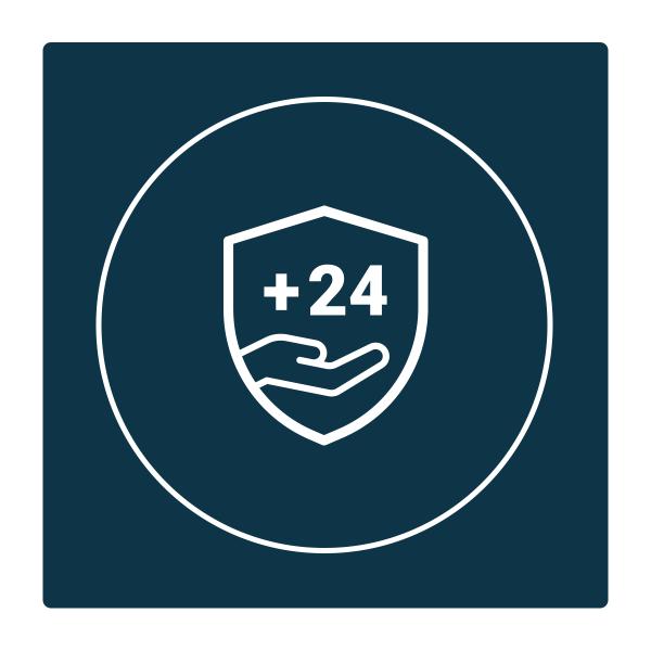24 Monate Garantieerweiterung